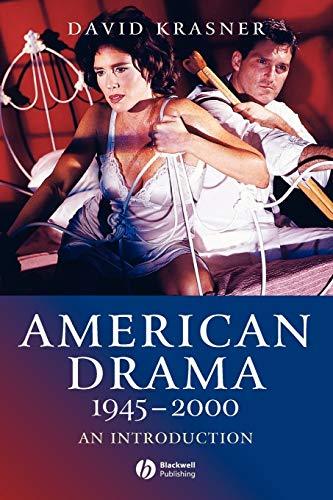 American Drama 1945 - 2000: An Introduction (1405120878) by Krasner, David