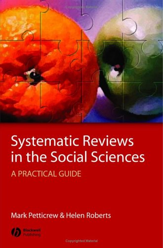 9781405121118: Systematic Reviews in the Social Sciences: A Practical Guide