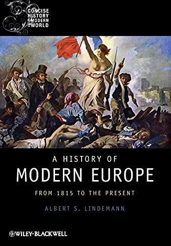 9781405121873: A History of Modern Europe: From 1815 to the Present