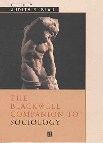 9781405122672: The Blackwell Companion to Sociology