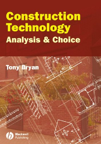 9781405122955: Construction Technology: Analysis and Choice