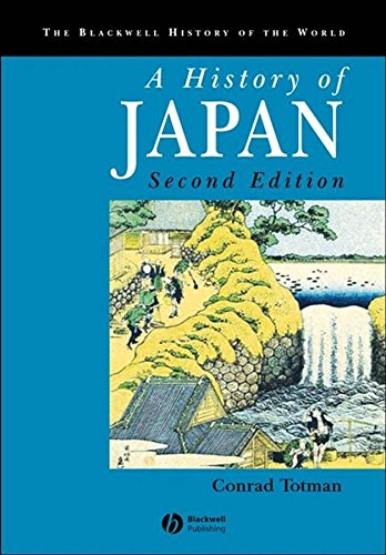 9781405123594: A History of Japan