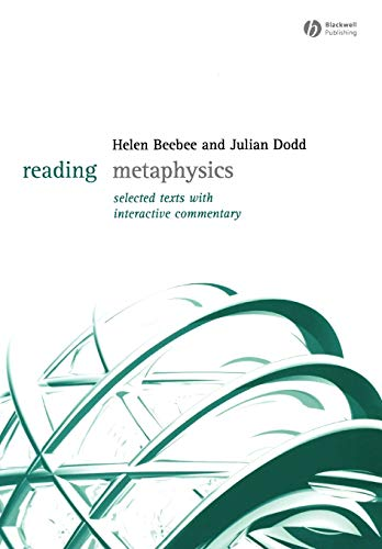 9781405123679: Reading Metaphysics: Selected Texts with Interactive Commentary (Reading Philosophy)