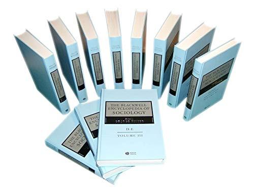 9781405124331: The Blackwell Encyclopedia of Sociology, 11 Volume Set