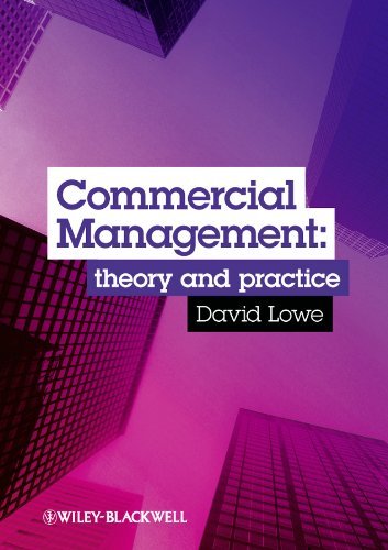 9781405124683: Commercial Management: Theory and Practice