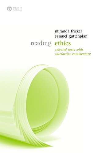 9781405124737: Reading Ethics (Reading Philosophy)