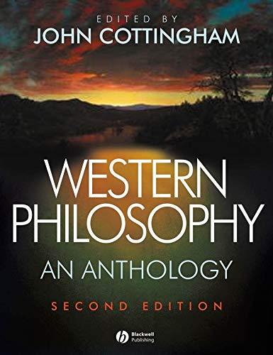 Western Philosophy: An Anthology: Cottingham, John G.
