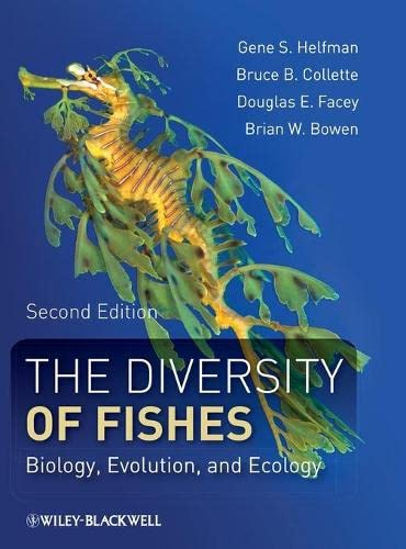 9781405124942: The Diversity of Fishes: Biology, Evolution, and Ecology