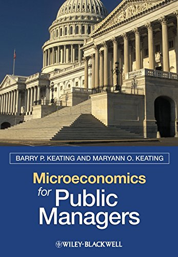 9781405125437: Microeconomics for Public Managers