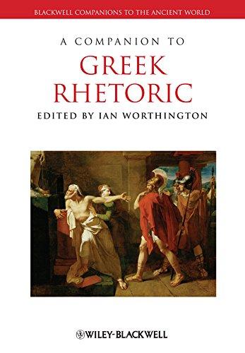 9781405125512: A Companion to Greek Rhetoric (Blackwell Companions to the Ancient World)