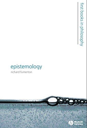 9781405125673: Epistemology