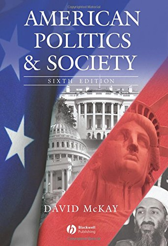 9781405126038: American Politics and Society