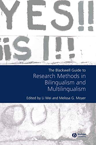 9781405126076: The Blackwell Guide to Research Methods in Bilingualism and Multilingualism
