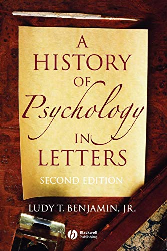 9781405126120: A History of Psychology in Letters