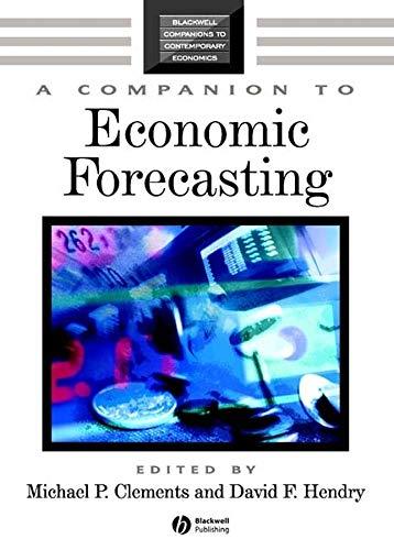 9781405126236: A Companion to Economic Forecasting