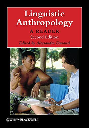 9781405126328: Linguistic Anthropology: A Reader, 2nd Edition (Blackwell Anthologies in Social & Cultural Anthropology)