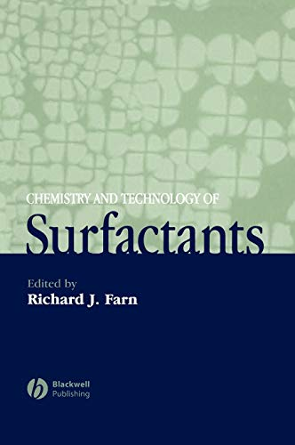 9781405126960: Chemistry and Technology of Surfactants