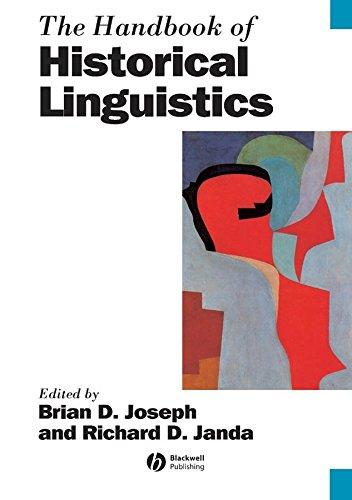 9781405127479: The Handbook of Historical Linguistics