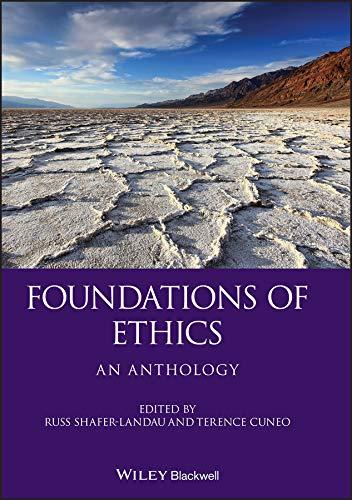 9781405129527: Foundations of Ethics: An Anthology