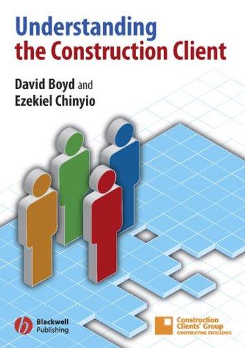 9781405129787: Understanding the Construction Client