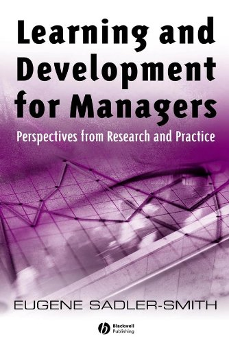 9781405129817: Learning and Development for Managers: Perspectives from Research and Practice