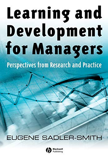 9781405129824: Learning and Development for Managers: Perspectives from Research and Practice
