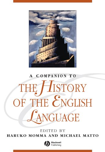 9781405129923: A Companion to the History of the English Language