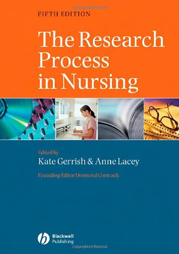 9781405130134: The Research Process in Nursing: Fifth Edition