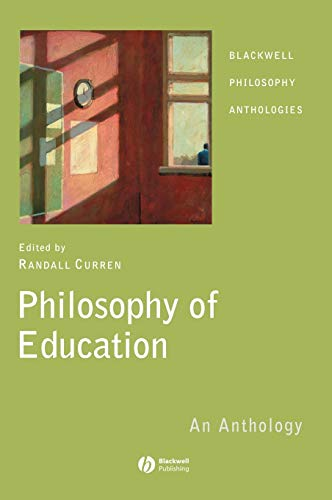 9781405130226: Philosophy of Education: An Anthology