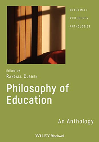 9781405130233: Philosophy of Education: An Anthology