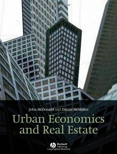 9781405131186: Urban Economics and Real Estate: Theory and Policy