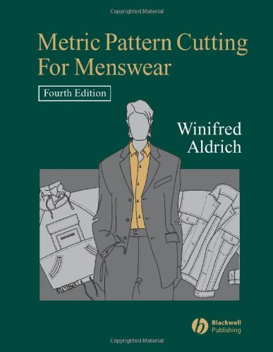 9781405131414: Metric Pattern Cutting for Menswear: Including Unisex Clothes And Computer Aided Design
