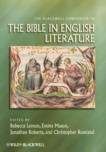 9781405131605: The Blackwell Companion to the Bible in English Literature