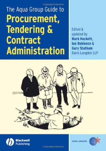 9781405131988: The Aqua Group Guide to Procurement, Tendering & Contract Administration