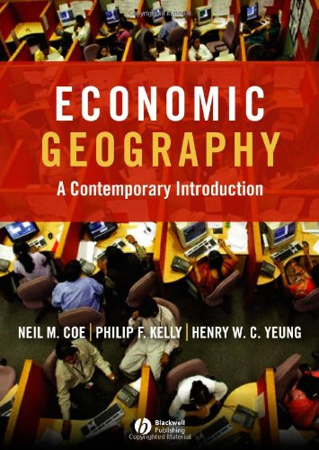 9781405132152: Economic Geography: A Contemporary Introduction