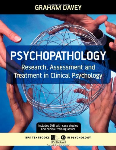 9781405132244: Psychopathology: Research, Assessment and Treatment in Clinical Psychology