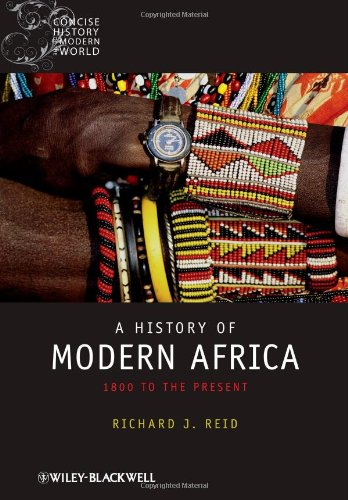 9781405132657: History of Modern Africa (Blackwell Concise History of the Modern World) (Wiley Blackwell Concise History of the Modern World)