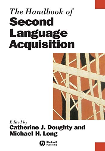 9781405132817: The Handbook Of Second Language Acquisition