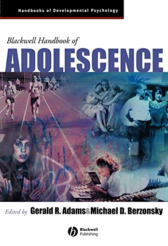 9781405133029: Blackwell Handbook of Adolescence