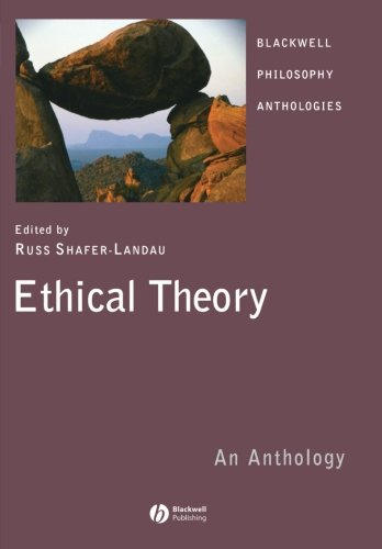 9781405133203: Ethical Theory: An Anthology