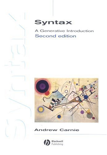 9781405133845: Syntax: A Generative Introduction (Introducing Linguistics)