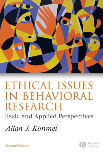 9781405134392: Ethical Issues in Behavioral Research: Basic and Applied Perspectives