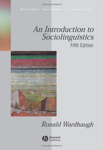 9781405135597: An Introduction to Sociolinguistics