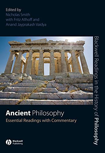 9781405135627: Ancient Philosophy: Essential Readings with Commentary