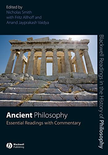 9781405135634: Ancient Philosophy: Essential Readings with Commentary