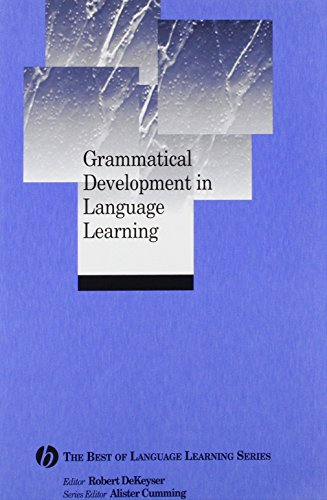 9781405135818: Grammatical Development in Language Learning: The Best of Language Learning Series