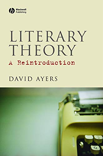 9781405136013: Literary Theory: A Reintroduction
