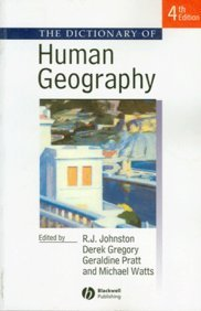 9781405136044: The Dictionary of Human Geography, 4th Edition