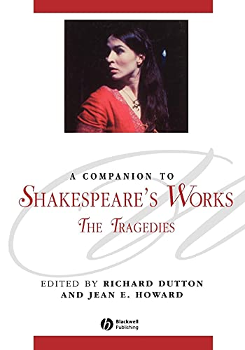 9781405136051: A Companion to Shakespeare's Works, Volume I: The Tragedies