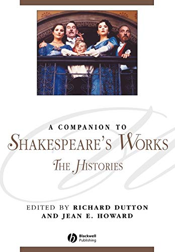 9781405136068: A Companion to Shakespeare's Works, Volume II: The Histories